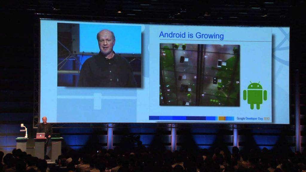 56 Google Developer Day 2010 Japan 基調講演 vol.3 Android