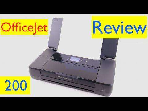 223 HP OfficeJet 200 Mobile Printer Review