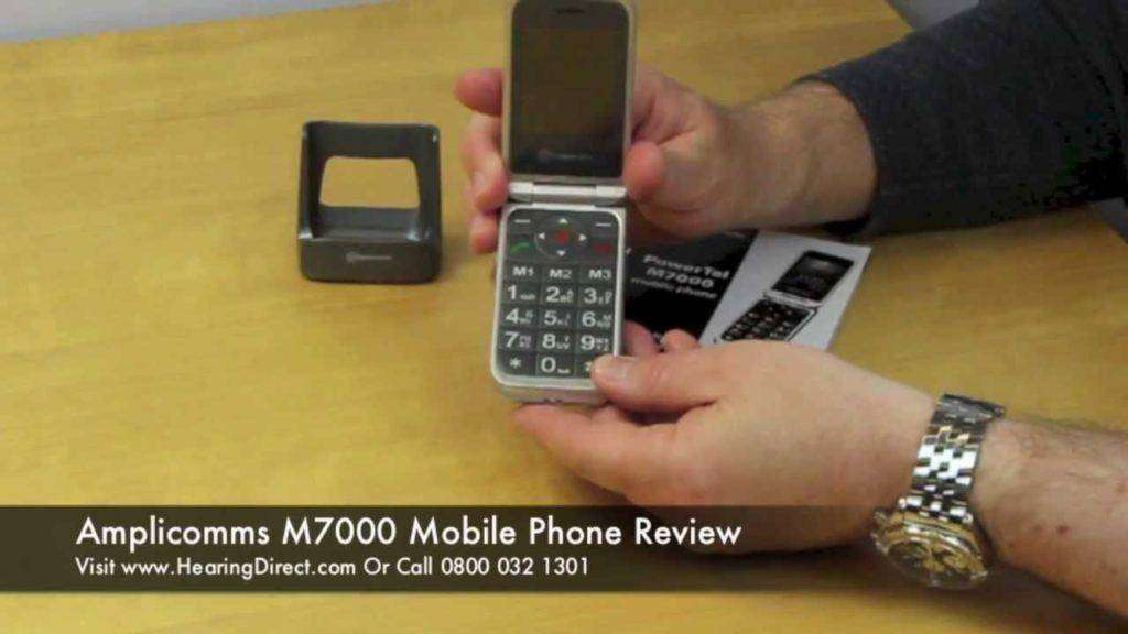 231 Amplicomms M7000 Mobile Phone Review