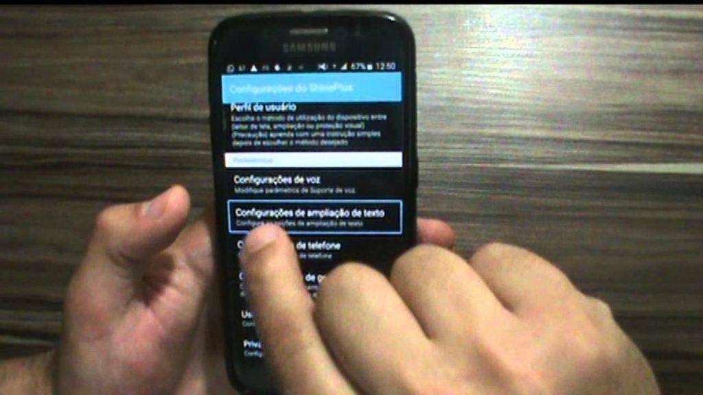 240 Acessibilidade Android - Demonstração do leitor de telas Shine Plus
