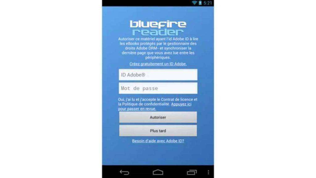264 Installer Bluefire Reader (Android)