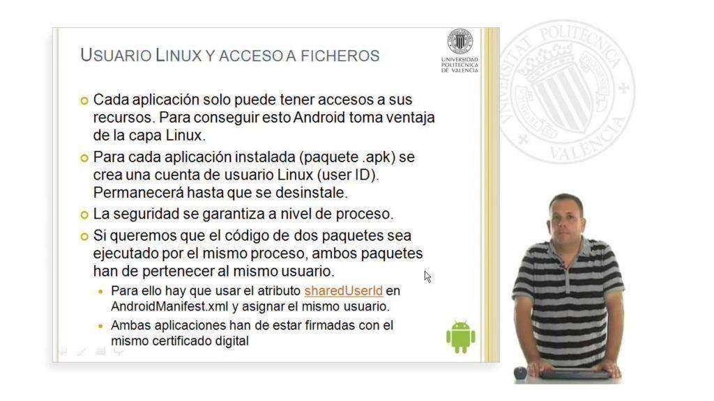 352 Seguridad en Android. © UPV