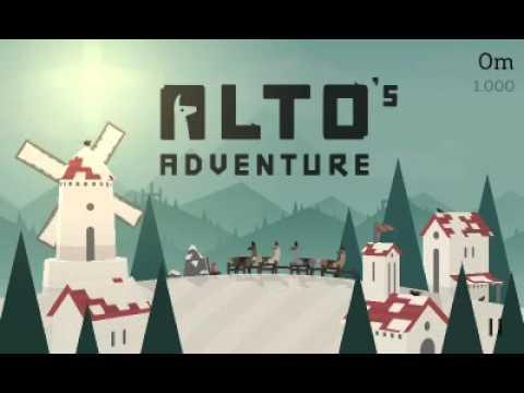 359 Mobile Game Review - Alto's Adventure