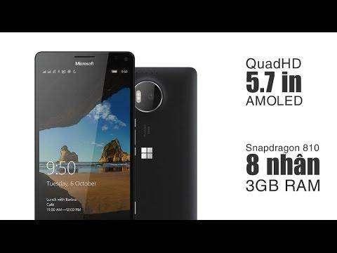 573 Review on windows mobile Microsoft Lumia 950 xl