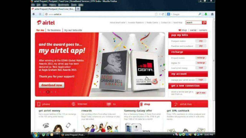 693 Airtel Mobile Recharge Full Review! - www airtel in