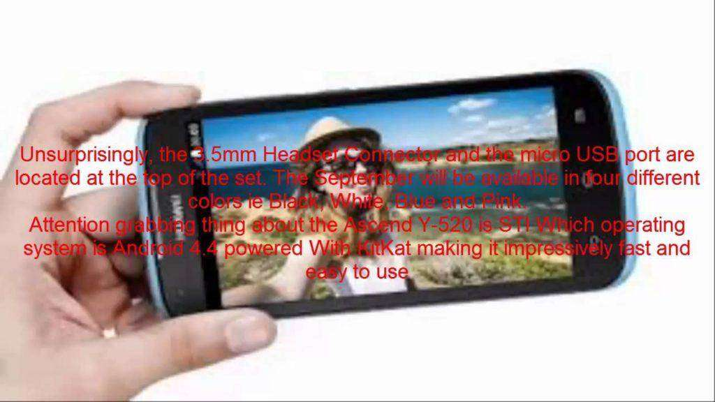 728 Huawei Ascend Y520 Review Mobile Smartphone Features Specs 2015