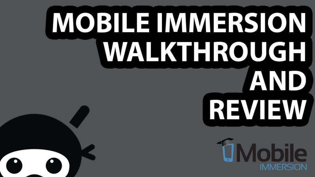 836 Mobile Immersion Review and Walkthrough + Bonus!