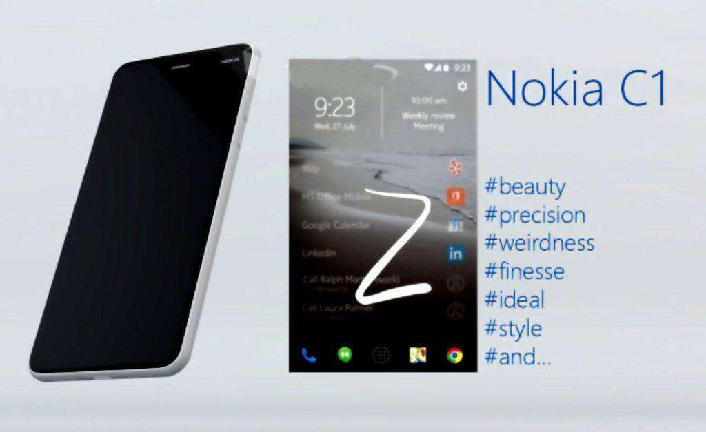 946 Nokia C1 anDroid 2016 Official Updates | #BSI7