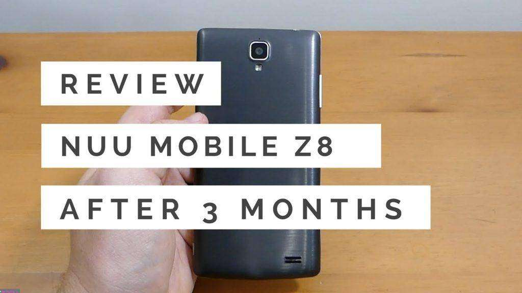 966 NUU Mobile Z8 Review After 3 Months