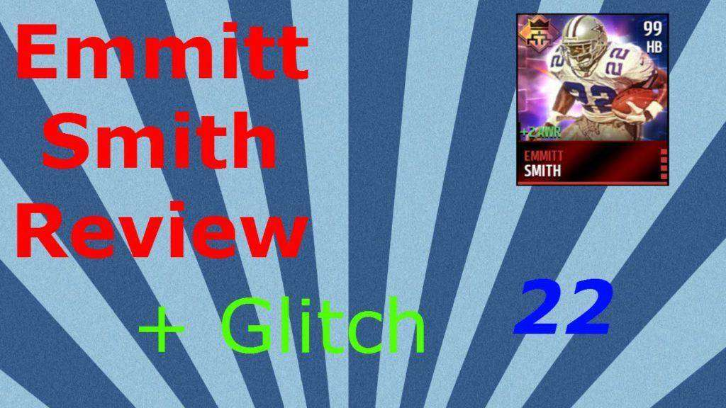 1175 Madden Mobile Emmitt Smith Review, also a glitch