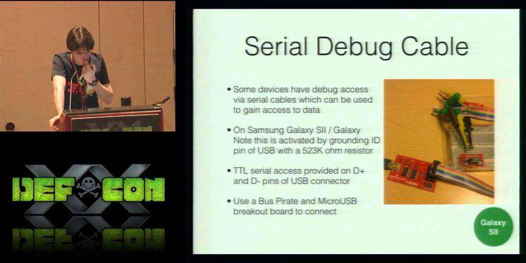 1181 [DEFCON 20] Into the Droid: Gaining Access to Android User Data
