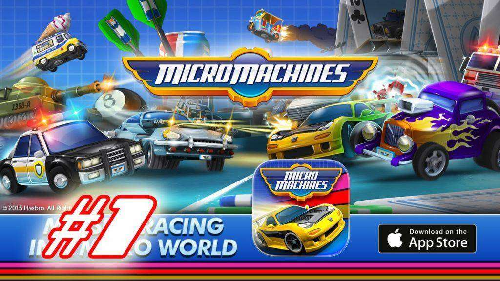 1197 Micro Machines Android Gameplay #1 (iOS/Android)