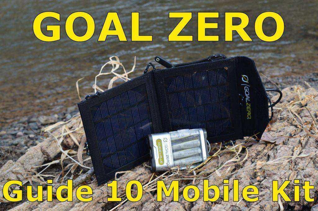 1218 Tested: Goal Zero Mobile Adventure kit review.