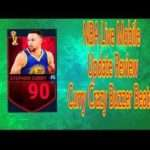 1298 NBA Live Mobile Update Review  | Curry Crazy Full Court Buzzer Beater!!