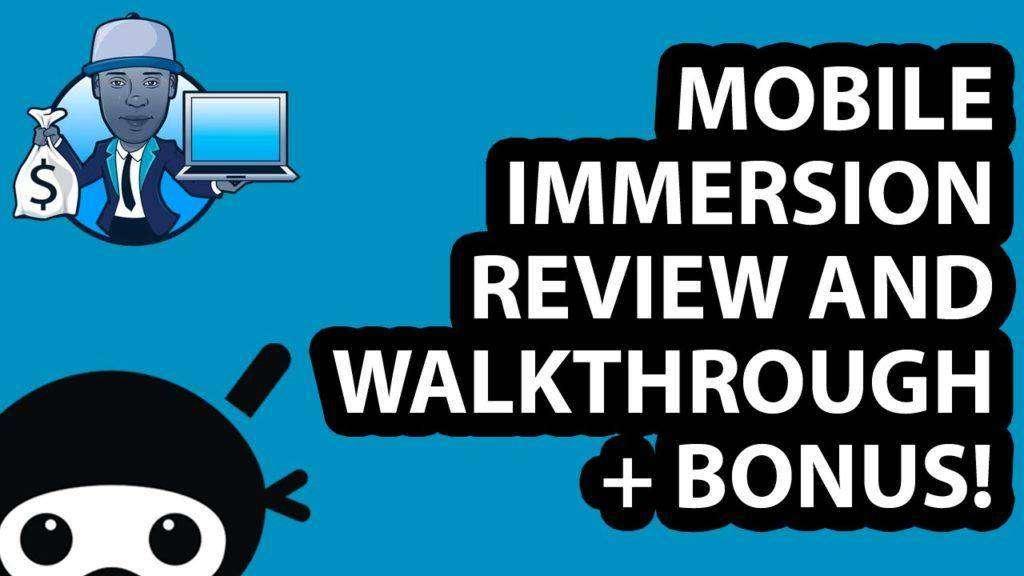 1342 2016 Mobile Immersion Review and Walkthrough + Bonus!