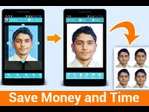 1399 How to make ID Passport VISA sized photo in 99 seconds using android app