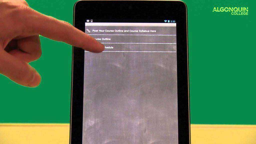 1510 Blackboard Mobile Learning Android