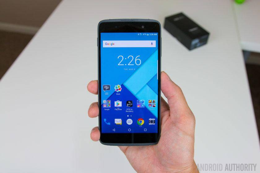 BlackBerry quits designing their own phones