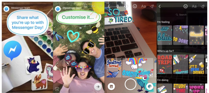 Facebook's 'Messenger Day' is yet another Snapchat Story clone