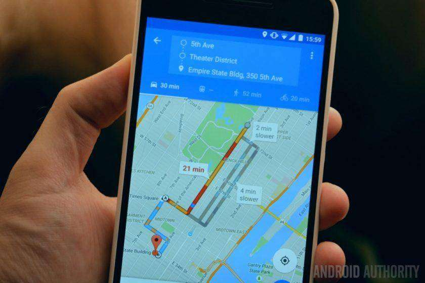 992 Google Maps just got a bunch of new voice commands