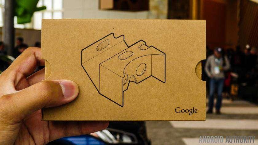 364 Google UK Twitter account teases Cardboard news