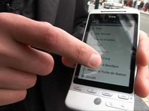 "STIB: Demo application ""STIB"" sur Android"