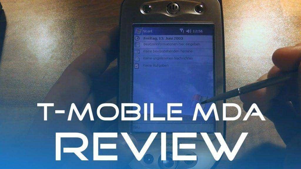 1637 T-Mobile MDA Retro Review (Deutsch/German)
