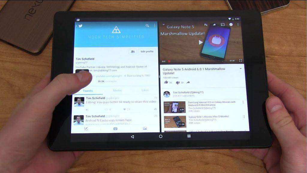 1676 Android N Split Screen Hands On