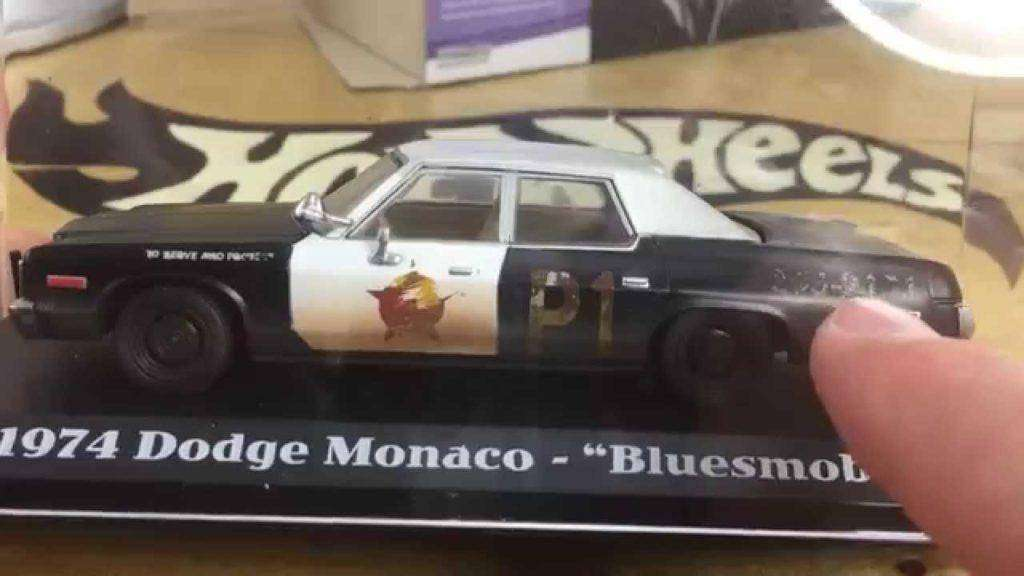1686 Greenlight Blues Brothers Blues Mobile 1:43 Review!