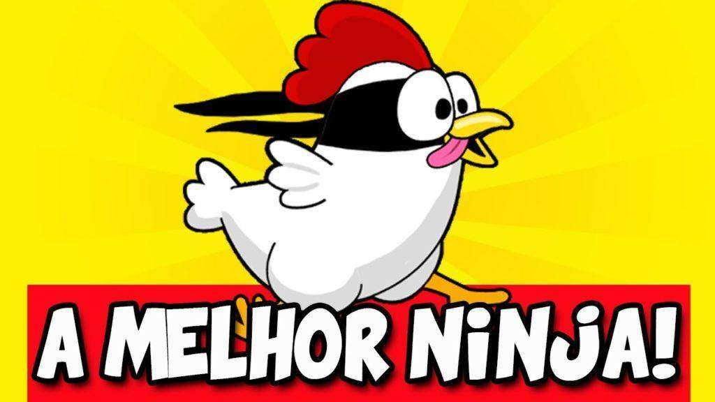 1743 A LILICA É UMA NINJA - Ninja Chicken (Android)