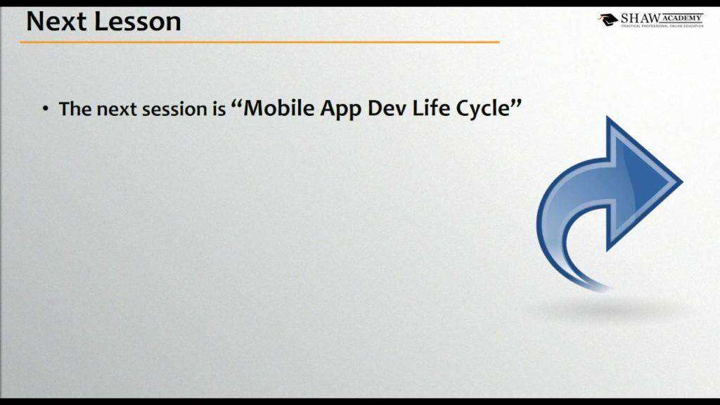 1762 Shaw Academy Mobile App Development Review   Lesson 5