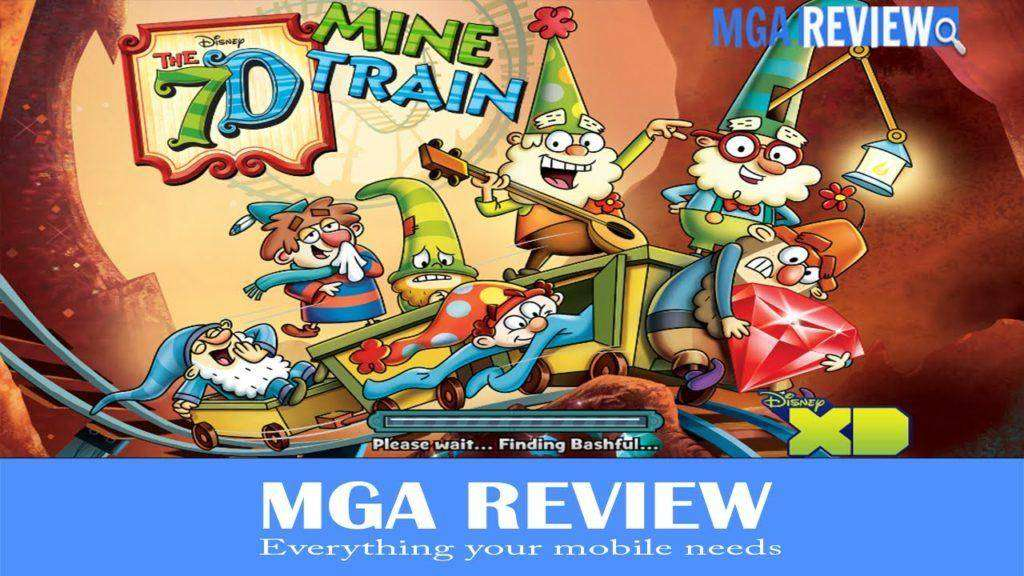 1780 The 7D Mine Train Game Android mobile video play review