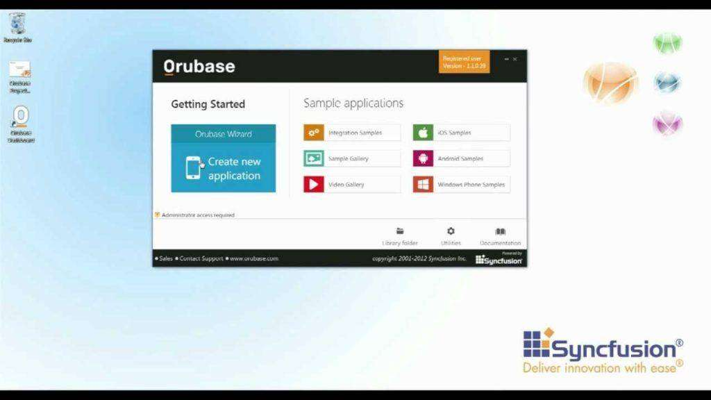 1808 Orubase: Hybrid, Mobile Apps to iOS, Android, and Windows Phone