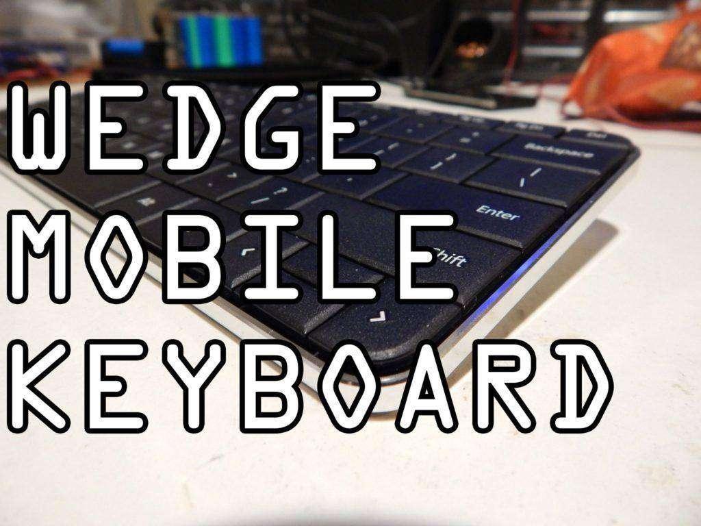 1839 Microsoft Wedge Mobile keyboard review