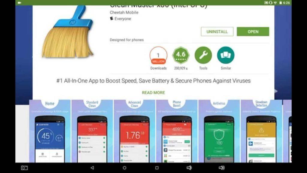 1847 Clean master Cheetah Mobile app review