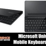 1876 Microsoft Universal Mobile Keyboard Review