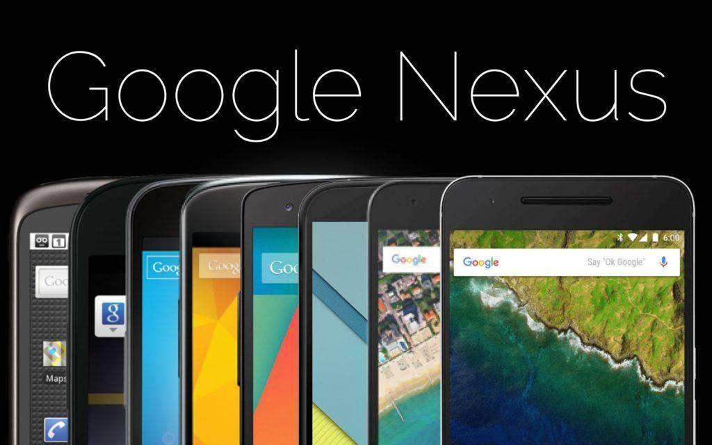 1878 Six years of Nexus: A Google phone history