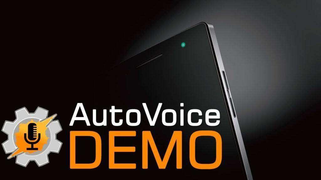 1918 Android Tasker Autovoice Demo | Always Listening
