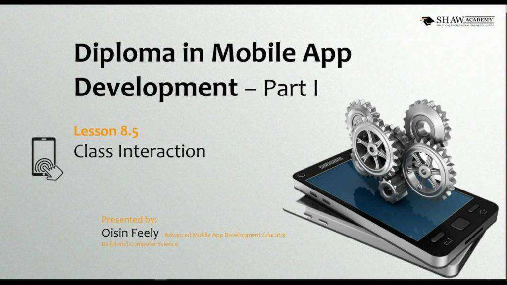 1998 Shaw Academy Mobile App Development Review | Lesson 8