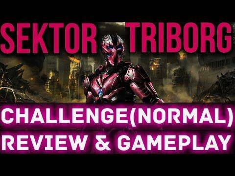 2052 SEKTOR TRIBORG CHALLENGE(Normal)in MKX MOBILE New Update 1.9 ANDROID/IOS. REVIEW, HACK & GAMEPLAY