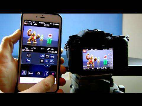 2098 Panasonic Lumix WiFi Mobile App Review