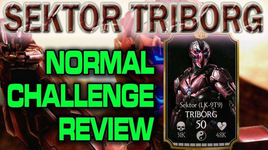 2135 SEKTOR TRIBORG CHALLENGE in MKX Mobile (Normal) review.