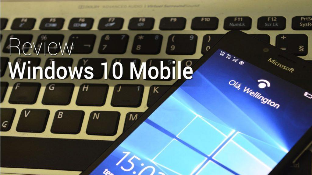 2195 Primeiras impressões do Windows 10 Mobile | Review do TudoCelular.com