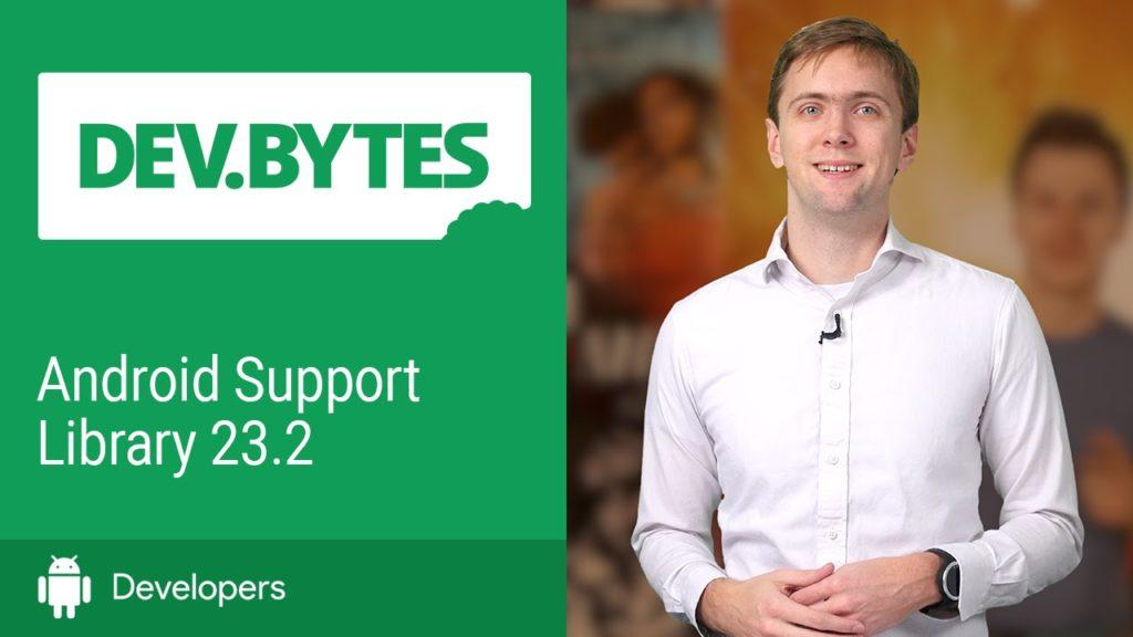 2197 Android Support Library 23.2