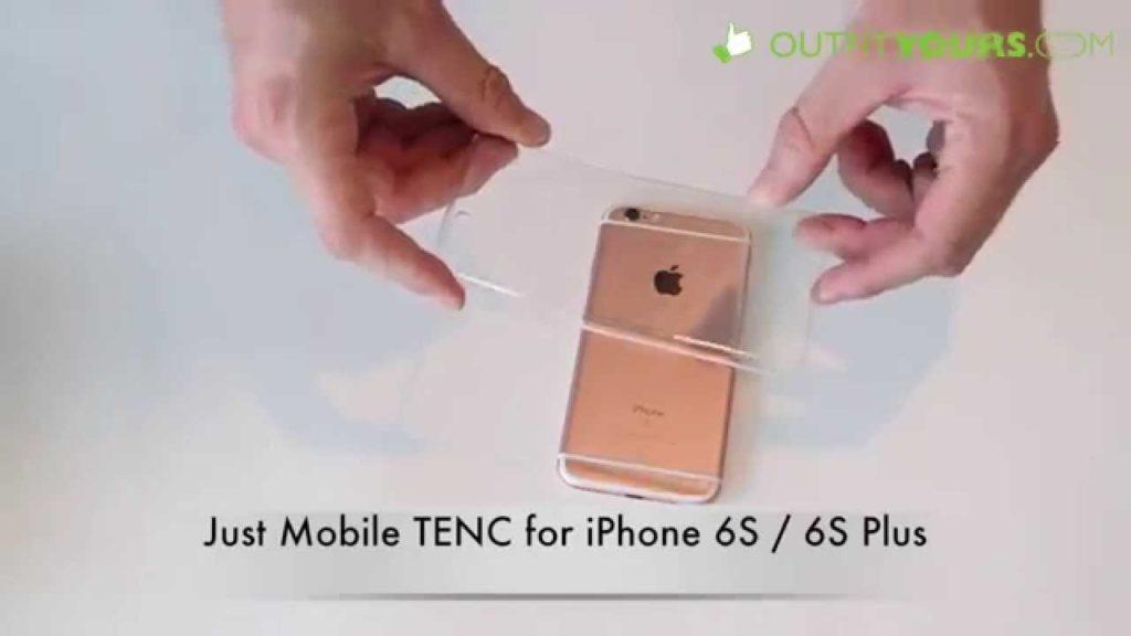2203 Just Mobile TENC Clear Case for iPhone 6S / 6S Plus Review - Best Clear Case - PC-168CC