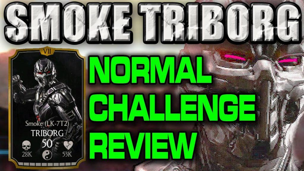 2313 SMOKE TRIBORG CHALLENGE in MKX Mobile (Normal) review.