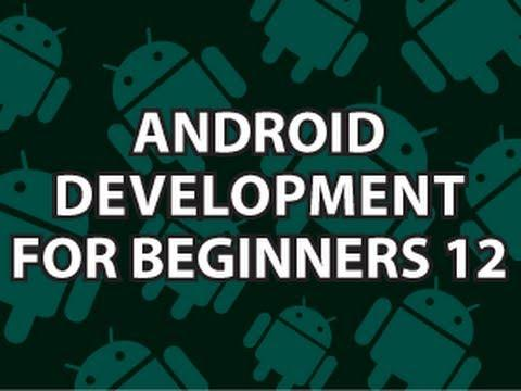 2370 Android Development for Beginners 12