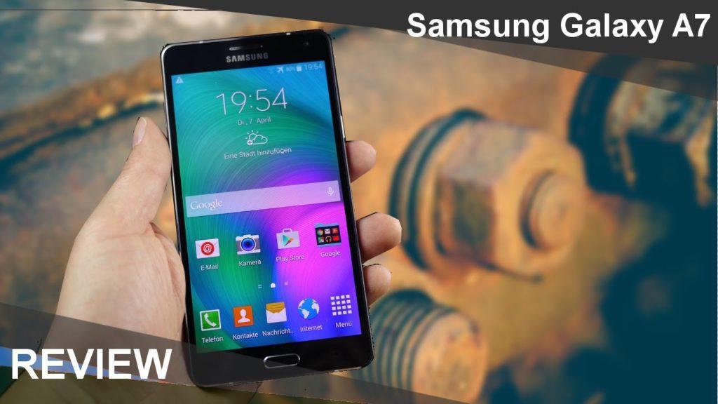 2384 Samsung Galaxy A7 Test (Review in Deutsch) | mobile-reviews