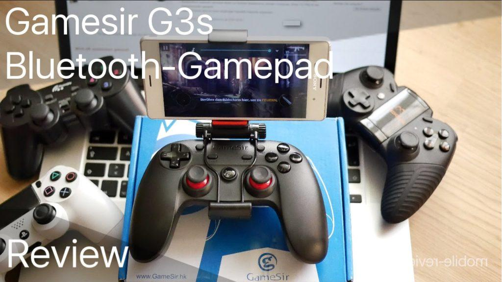 2396 Review/Verlosung: Gamesir G3s Bluetooth-Gamepad (Deutsch) | mobile-reviews