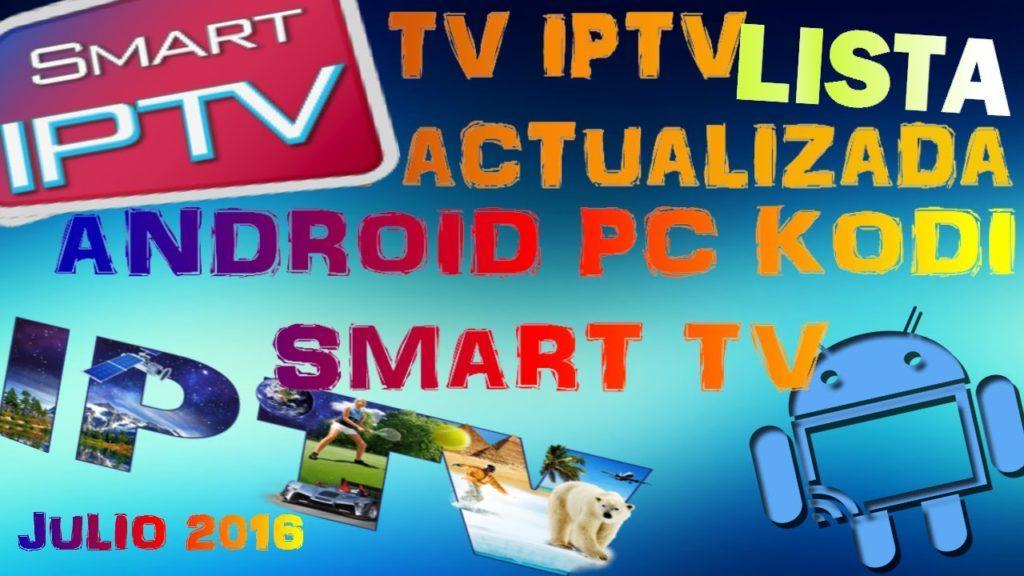 2453 Televisiòn IPTV completa/01 octubre 2016/ Android/PC/Kodi/Smart tv